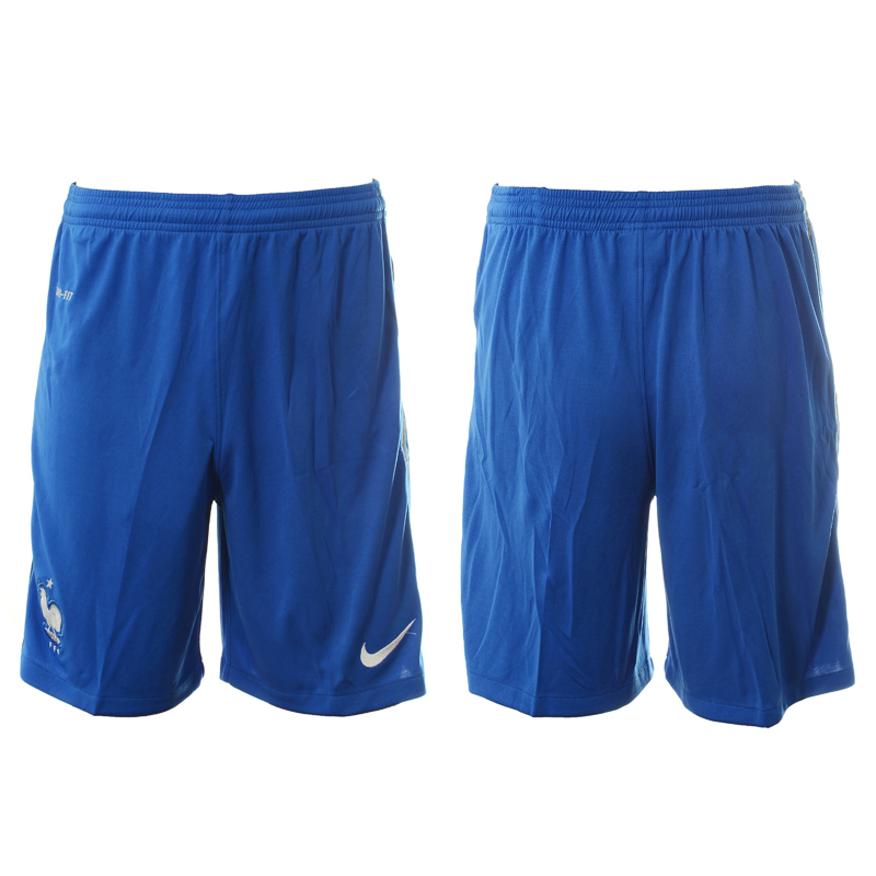 France Home Euro 2016 Soccer Shorts