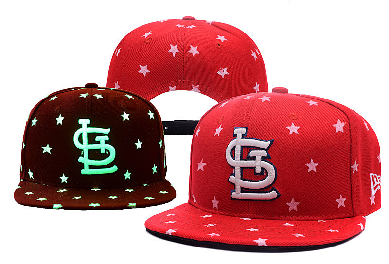 Cardinals Team Logo Red Adjustable Luminous Hat YD
