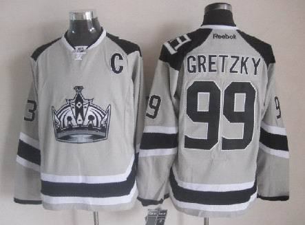 Kings 99 Gretzky Grey 2014 Stadium Series Jerseys