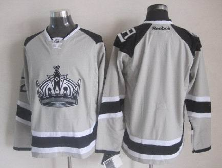 Kings Blank Grey 2014 Stadium Series Jerseys