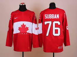 Canada 76 Subban red 2014 Olympics Jerseys