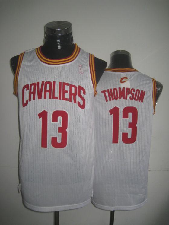 Cavaliers 13 Thompson White New Revolution 30 Jerseys