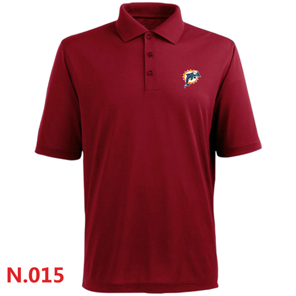 Nike Miami Dolphins 2014 Players Performance Polo Red