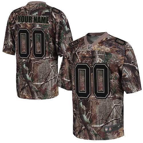 Nike Washington Redskins Customized Elite Camo Jerseys