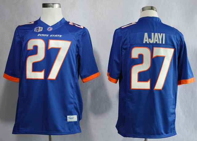 Boise State Broncos Jay Ajayi 27 College Blue Jerseys