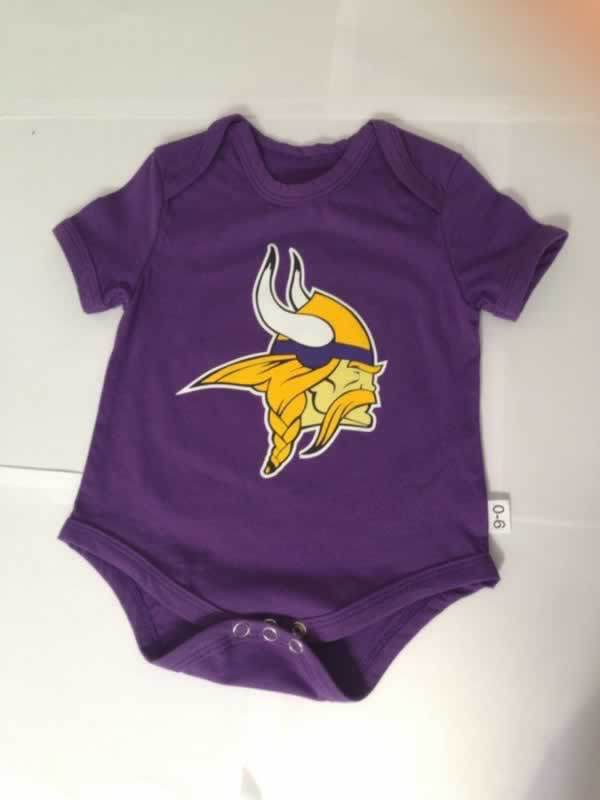 Vikings Purple Toddler T Shirts