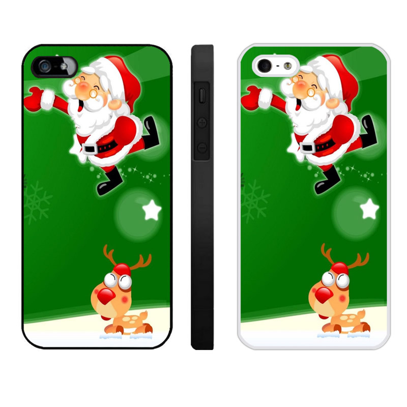 Merry Christmas Iphone 4 4S Phone Cases (5)