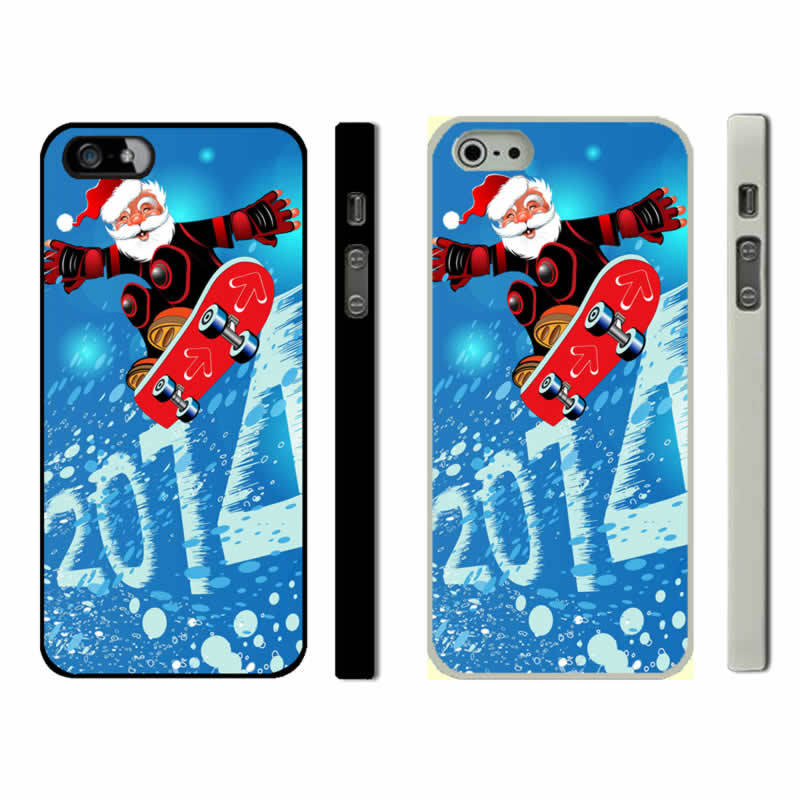 Merry Christmas Iphone 5S Phone Cases (2)