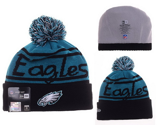 Eagles Green Fashion Knit Hat XDF