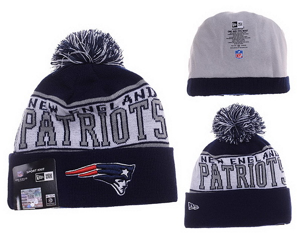 Patriots Grey Fashion Knit Hat XDF