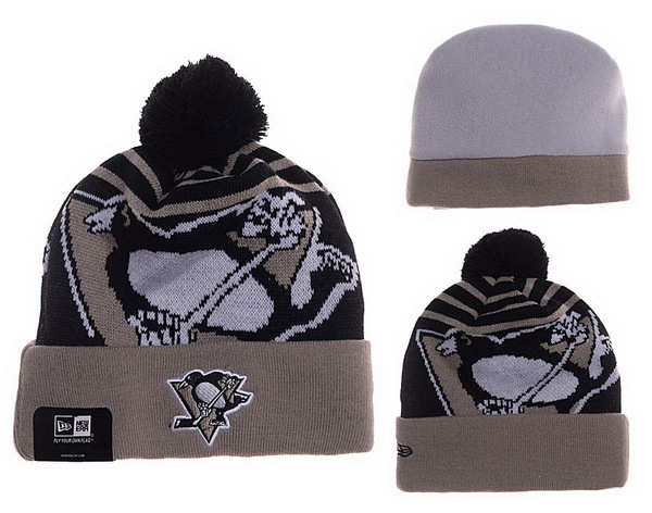 Penguins Khaki Fashion Knit Hat XDF