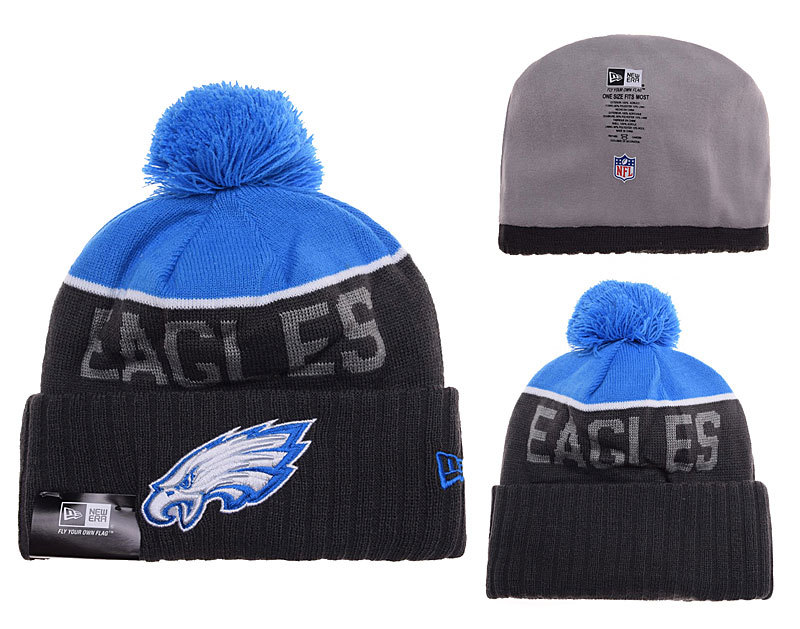 Eagles Black Fashion Knit Hat SD