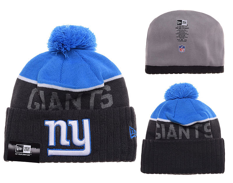 Giants Black Fashion Knit Hat SD