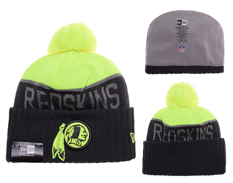 Redskins Black Fashion Knit Hat SD