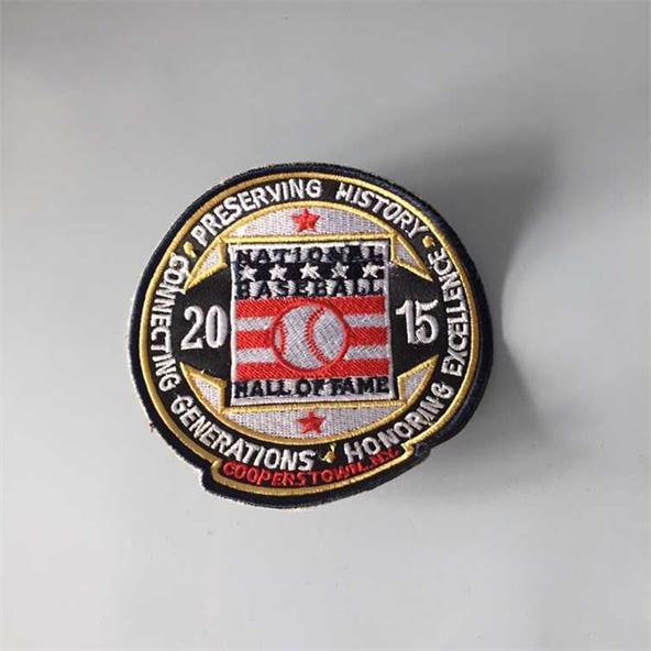National Baseball 2015 Hall Of Fame Patch