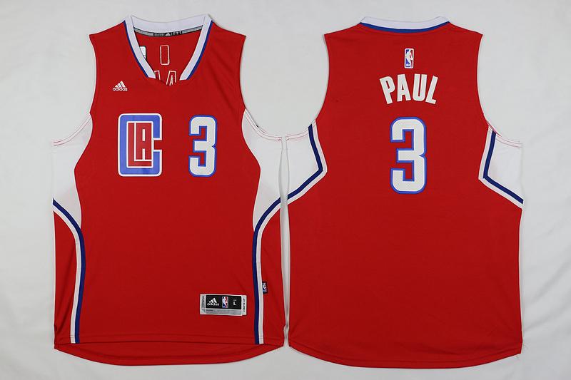Clippers 3 Chris Paul Red 2015 Swingman Jersey