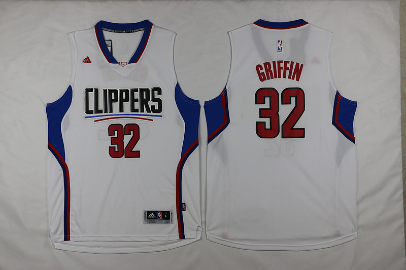 Clippers 32 Blake Griffin White 2015 Swingman Jersey