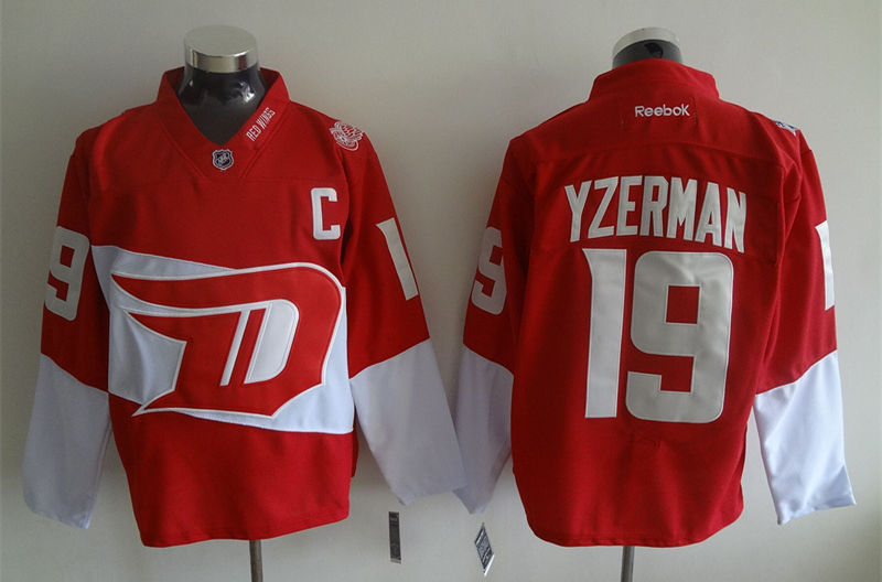 Red Wings 19 Steve Yzerman Red 2016 Stadium Series Reebok Jersey