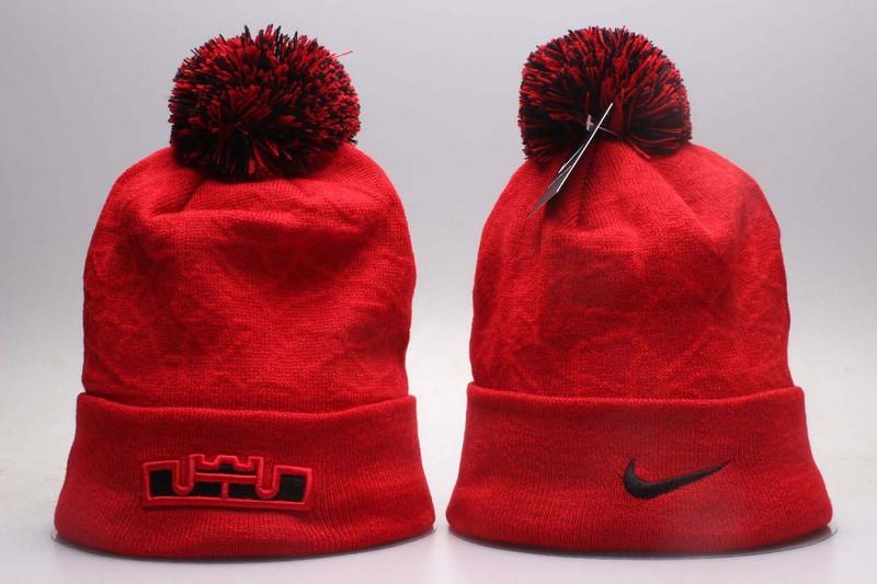 Nike Fresh Logo Red Fashion Knit Hat YP