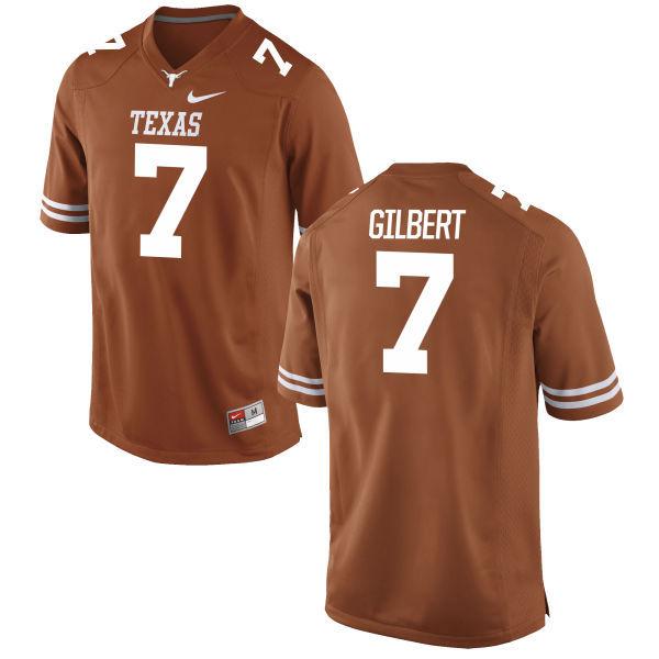 Texas Longhorns 7 Garrett Gilbert Orange Nike College Jersey