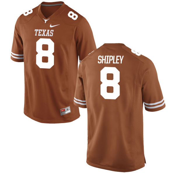 Texas Longhorns 8 Jordan Shipley Orange Nike College Jersey