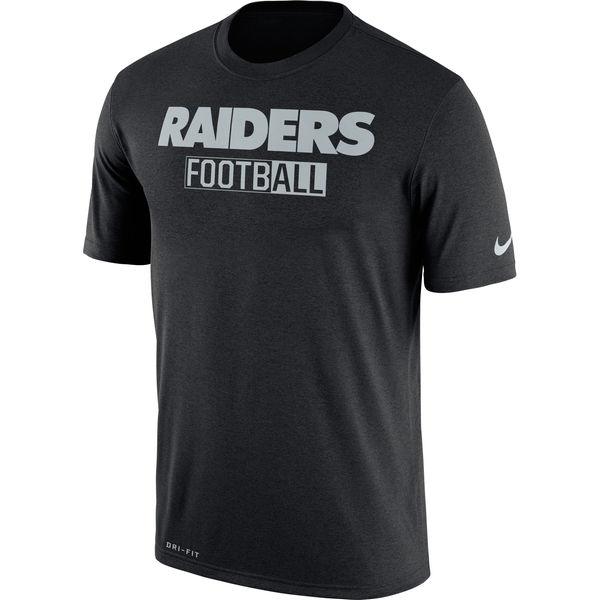 Oakland Raiders Nike All Football Legend Performance T-Shirt Black
