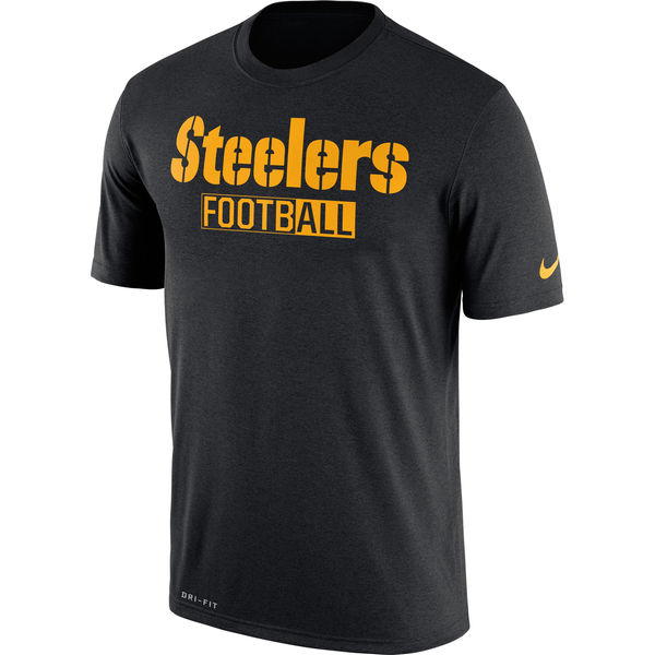 Pittsburgh Steelers Nike All Football Legend Performance T-Shirt Black
