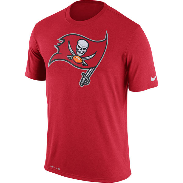 Tampa Bay Buccaneers Nike Legend Logo Essential 3 Performance T-Shirt Red