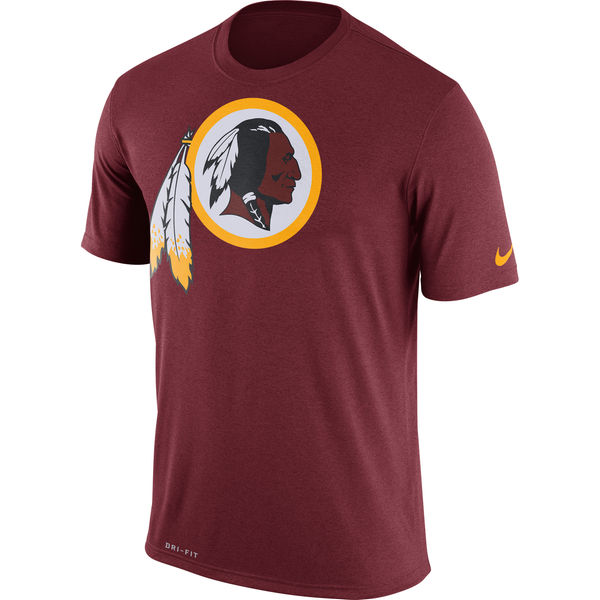 Washington Redskins Nike Legend Logo Essential 3 Performance T-Shirt Burgundy