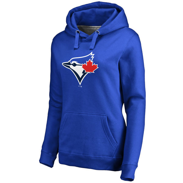 Toronto Blue Jays Women's Team Color Primary Logo Pullover Hoodie Royal