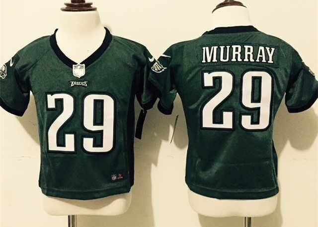 Nike Eagles 29 DeMarco Murray Green Toddler Game Jersey