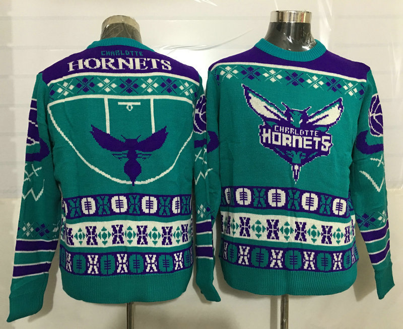 Hornets Crew Neck Men's Ugly Sweater