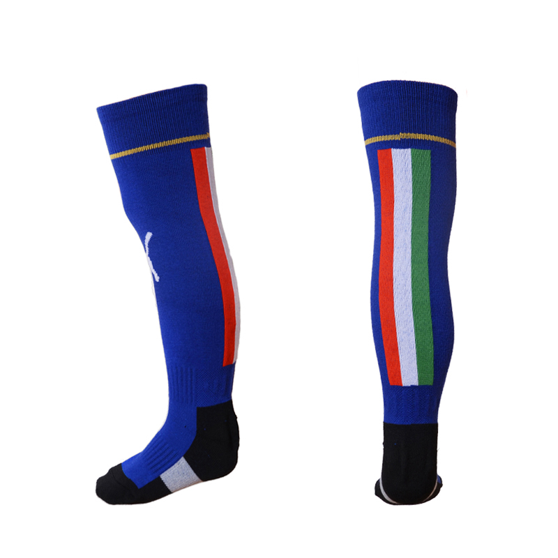 Italy Euro 2016 Home Youth Soccer Socks