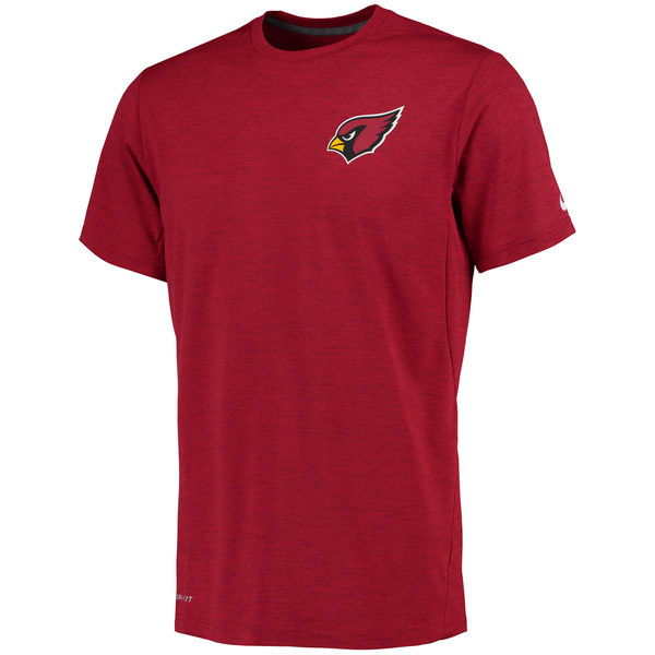 Nike Arizona Cardinals Red Dri-Fit Touch Performance Men's T-Shirt