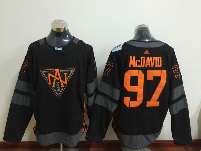 Oilers 97 Connor McDavid Black 2016-17 NHL Heritage Classic Jersey