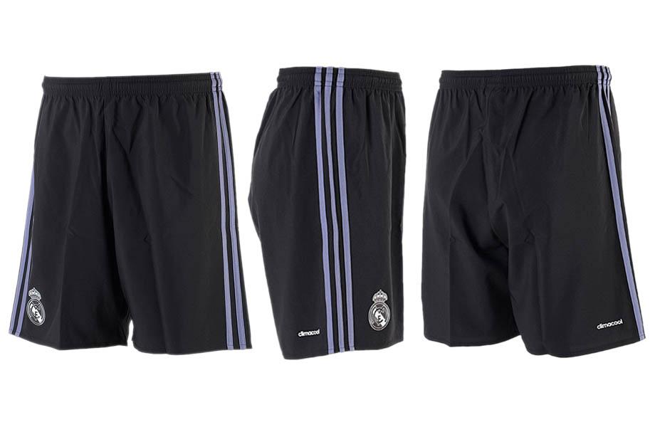 2016-17 Real Madrid Third Away Soccer Shorts