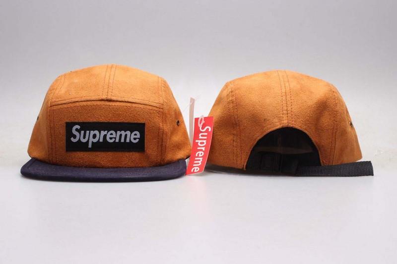 Supreme Fresh Logo Camel Adjustable Hat YP