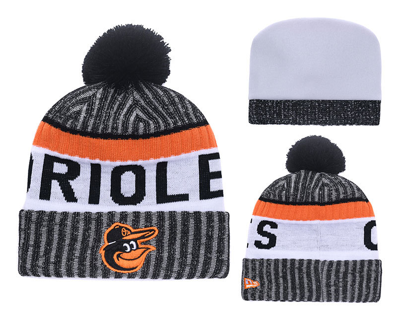 Orioles Team Logo Knit Hat YD