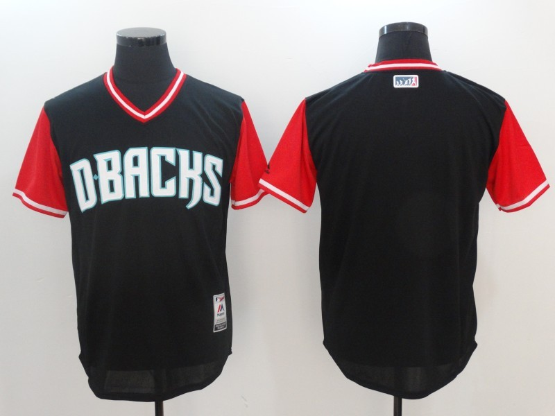 Diamondbacks Majestic Black 2017 Players Weekend Team Jersey