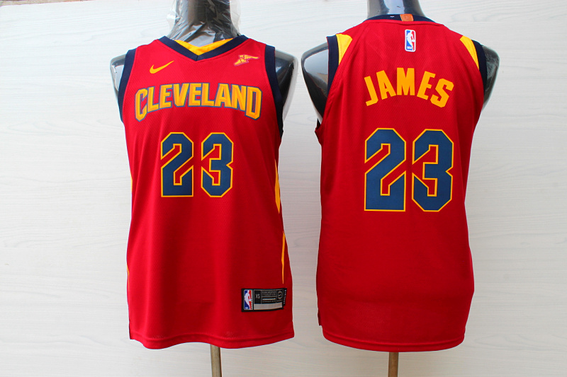 Cavaliers 23 LeBron James Red Youth Nike Replica Jersey