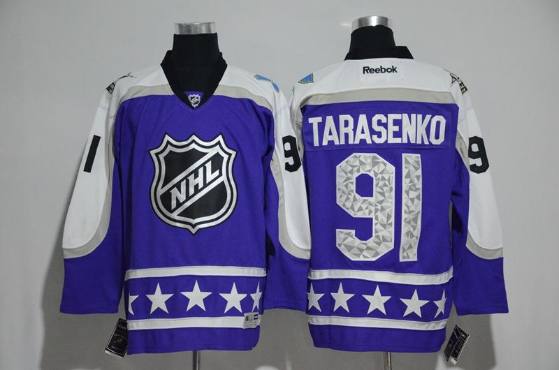 Blues 91 Vladimir Tarasenko Purple Central Division 2017 NHL All-Star Game Premier Jersey