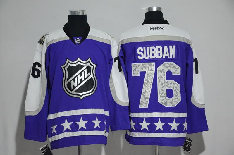 Predators 76 P. K. Subban Purple Central Division 2017 NHL All-Star Game Premier Jersey