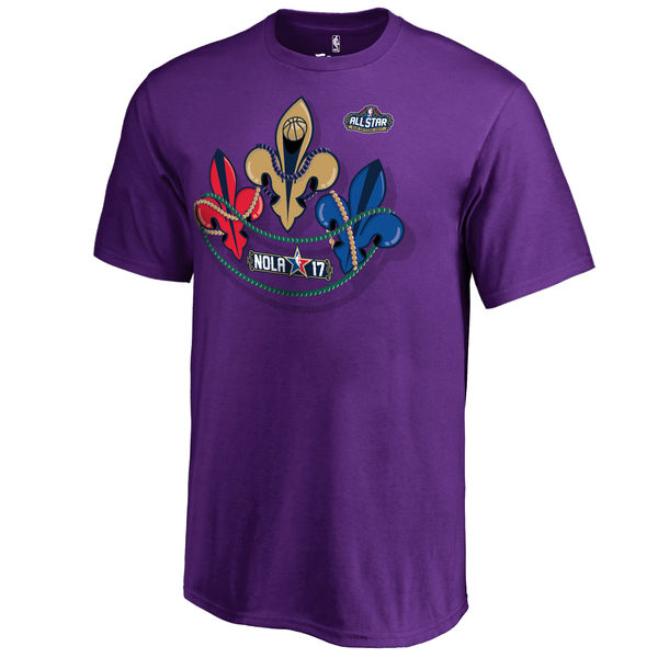 Youth Fanatics Branded Purple 2017 NBA All-Star Game Shine T-Shirt