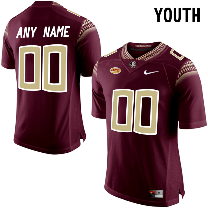 Florida State Seminoles Red Youth Customized College Jersey