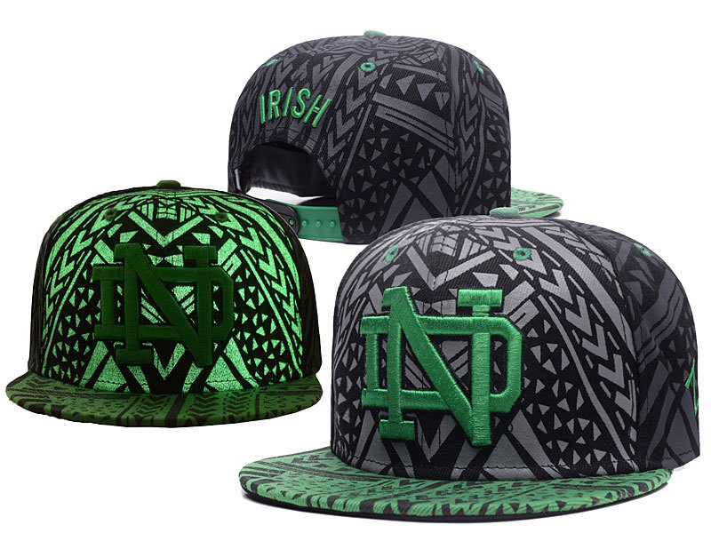 Notre Dame Fighting Irish Reflective Ajustable Hat GS