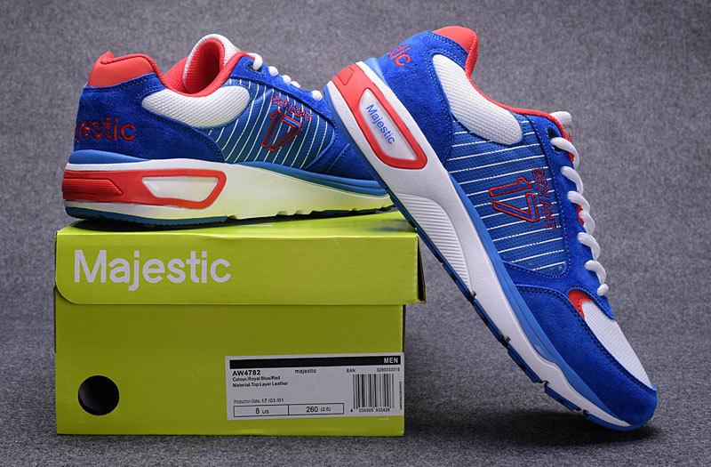Men's Chicago Cubs 17 Kris Bryant Blue Majestic Sport Shoes