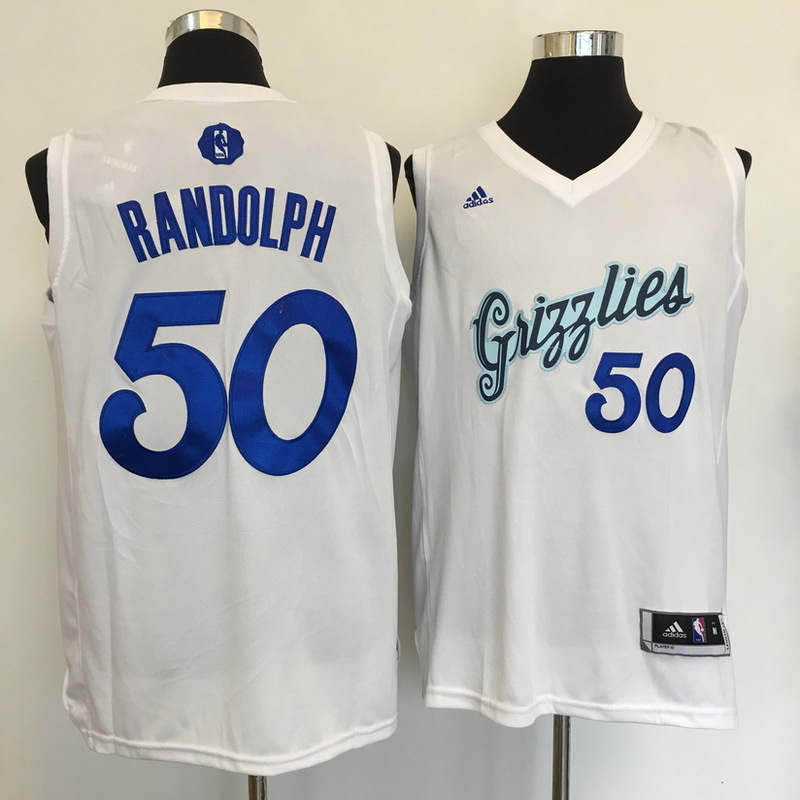 Grizzlies 50 Zach Randolph White 2016 Christmas Day Swingman Jersey