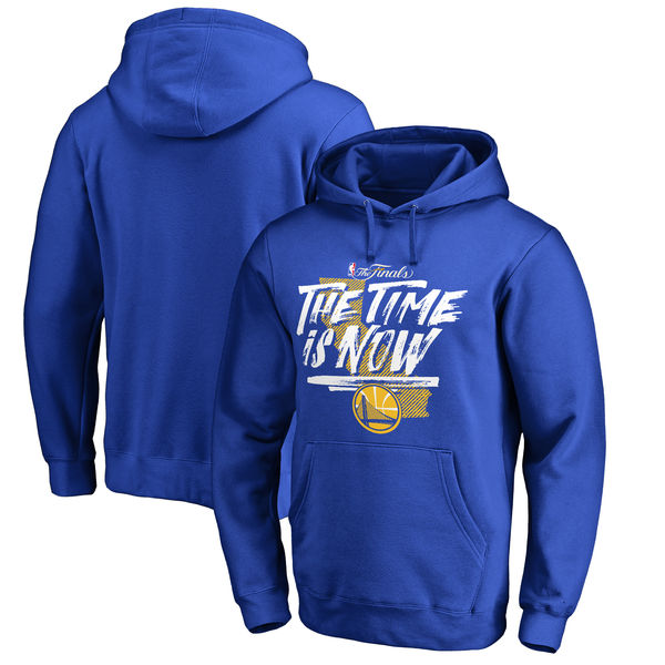 Golden State Warriors 2017 NBA Champions Royal Men's Pullover Hoodie