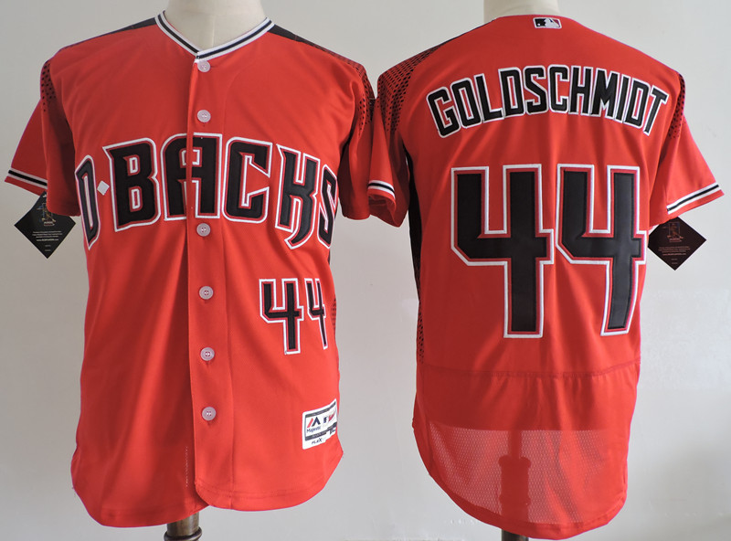 Diamondbacks 44 Paul Goldschmidt Red Flexbase Jersey