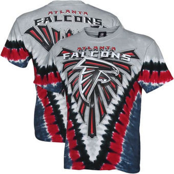 Atlanta Falcons Tie-Dye Premium Men's T-Shirt